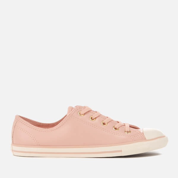 Converse Women s Chuck Taylor All Star Dainty Ox Trainers - Dusk Pink Gold  Egret 634172519