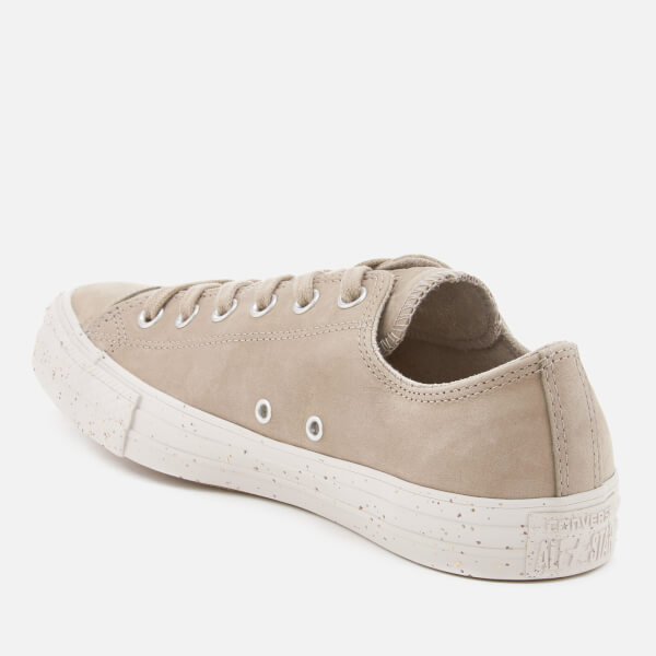 db12b14a2d71 Converse Men s Chuck Taylor All Star Ox Trainers - Malted Engine Smoke Pale  Putty