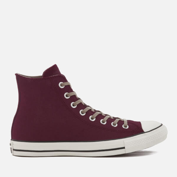 Converse Men s Chuck Taylor All Star Hi-Top Trainers - Dark Sangria Malted  f1ea86c81