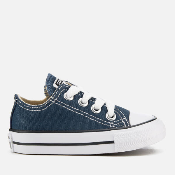 Converse Toddlers' Chuck Taylor All Star Ox Trainers - Navy