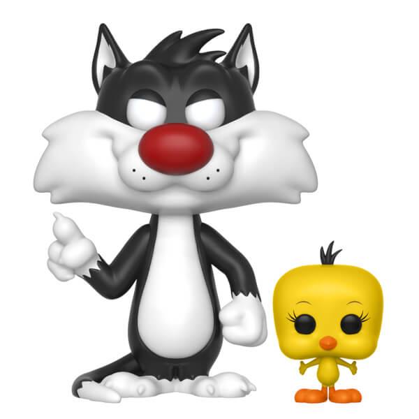 Looney Tunes Sylvester With Tweety Pop Vinyl Figure Pop