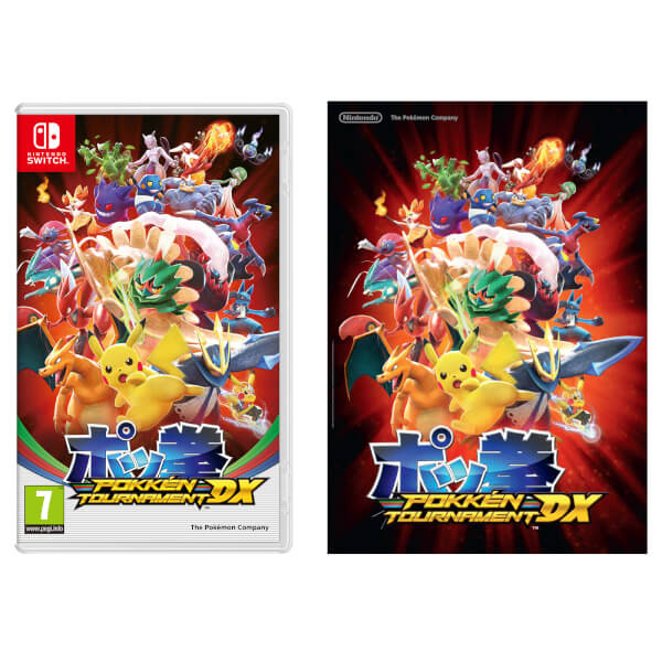 Pokkén Tournament DX + A2 Poster