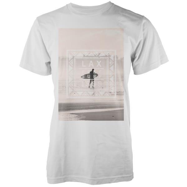 Native Shore Men's Free Surf Graphic T-Shirt - White
