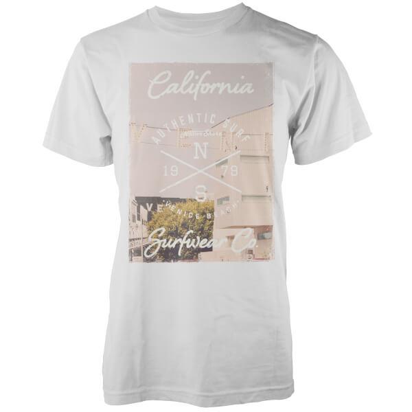 Camiseta Native Shore Venice Beach - Hombre - Blanco