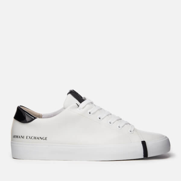 Armani Exchange Women's Low Top Trainers - Optical White