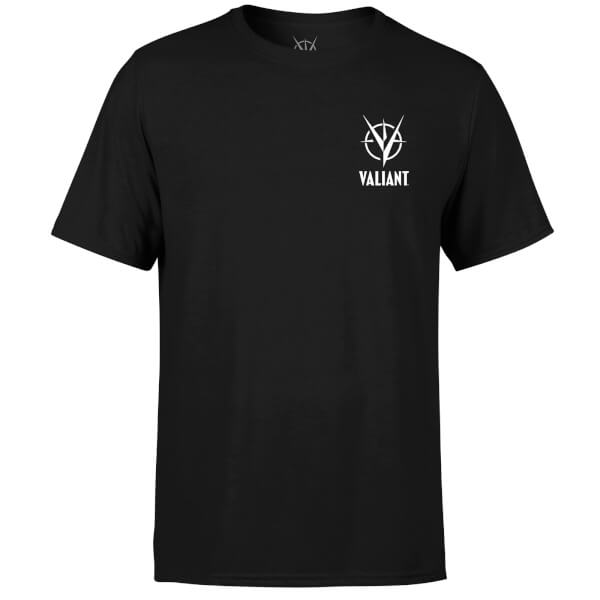 Valiant Comics Logo Pocket Mono T-Shirt - Black