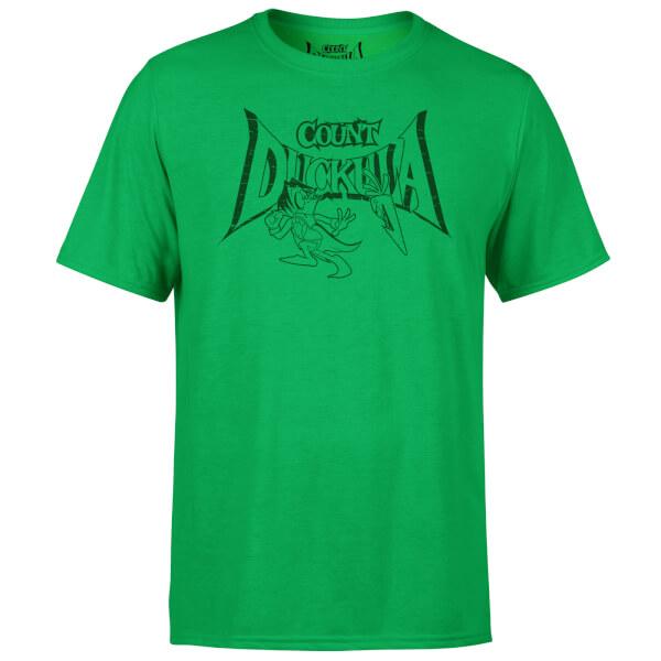 Count Duckula Chase Logo Green T-Shirt