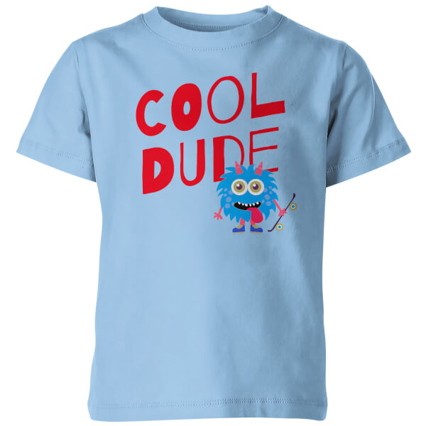 Cool Dude Kid's Blue T-Shirt