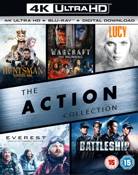 4K Action Box Set - 4K Ultra HD