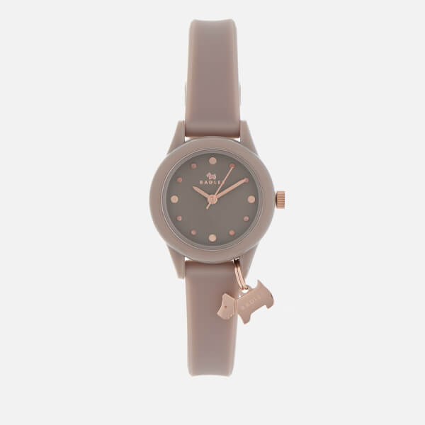 Radley Women's Watch It! Silicone Strap Watch - Grey