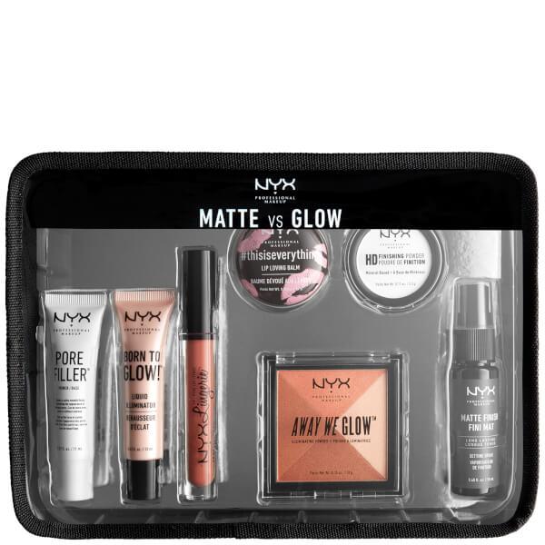 Nyx Professional Makeup Jet Set Travel Kit   Matte Vs Glow by Nyx Professional Makeup