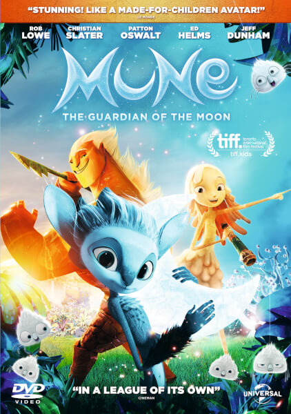 Mune The Guardian Of The Moon Dvd Zavvi