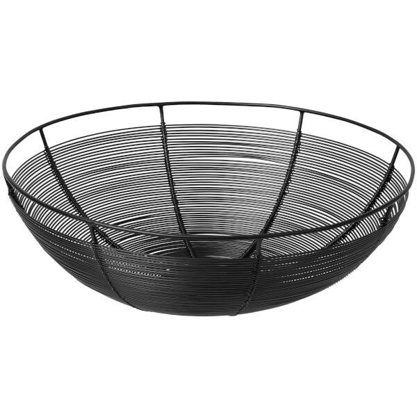 Broste Copenhagen Nina Bread Basket - Iron Black