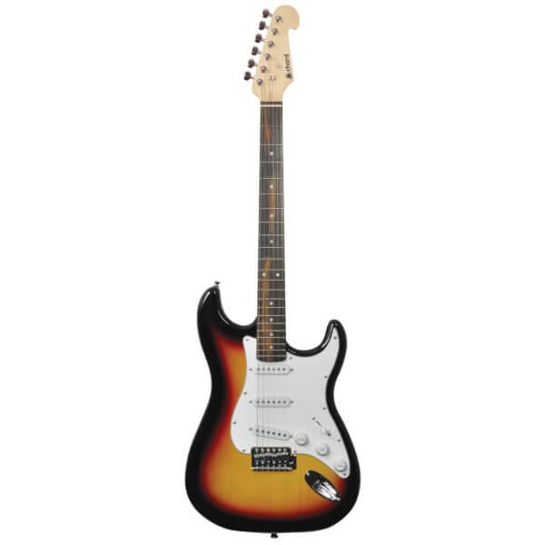 Chord CAL63-3TS Electric Guitar - 3 Tone Sunburst