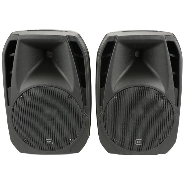 QTX DUET300 Compact 300W Bluetooth PA System Speakers