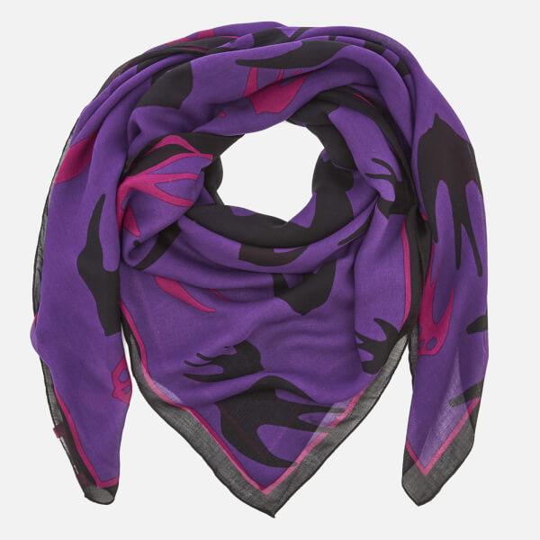 McQ Alexander McQueen Women's Swallow Swarm Scarf - Violetta