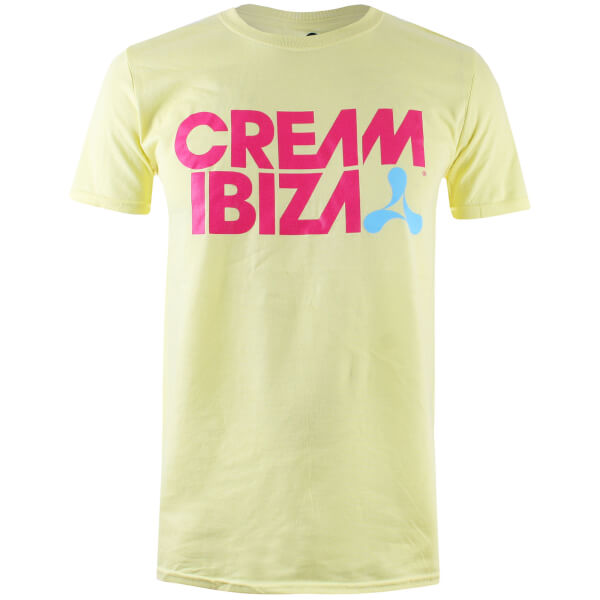 Ibiza Men's Cream Ibiza T-Shirt - Pale Yellow