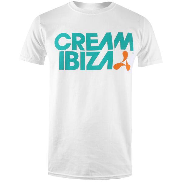 Ibiza Men's Cream Ibiza T-Shirt - White