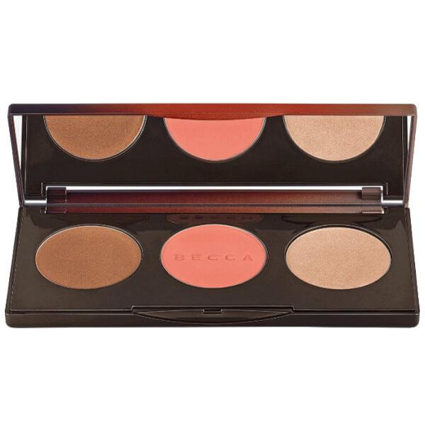 Becca Sunchaser Palette Bronze Blush and Highlight 12.1g