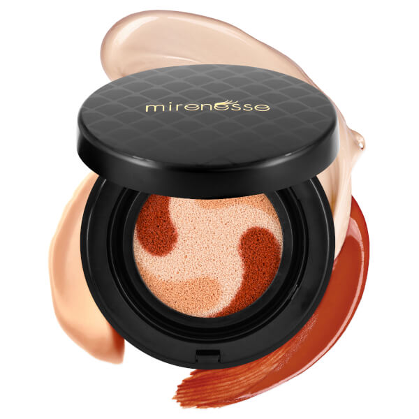 Mirenesse 10 Collagen Cushion Custom Liquid Colour Lift and Tint Blush 1. Nude 15g