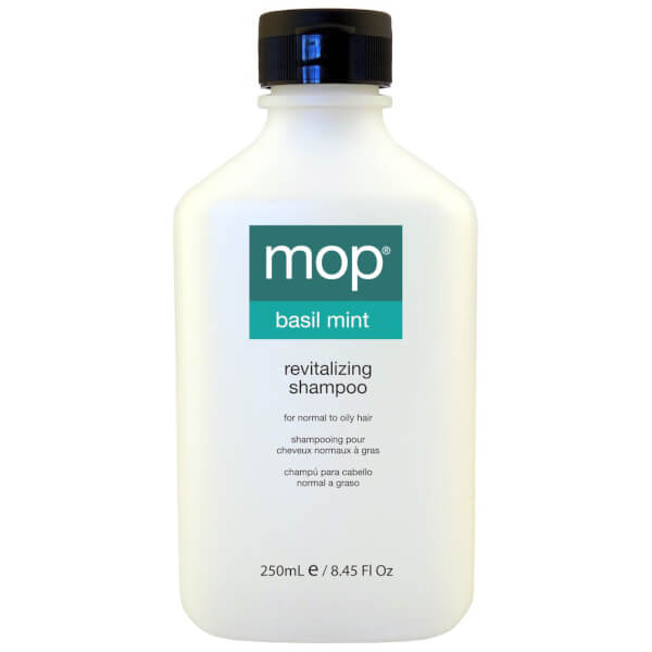 mop basil mint revitalizing shampoo 250ml