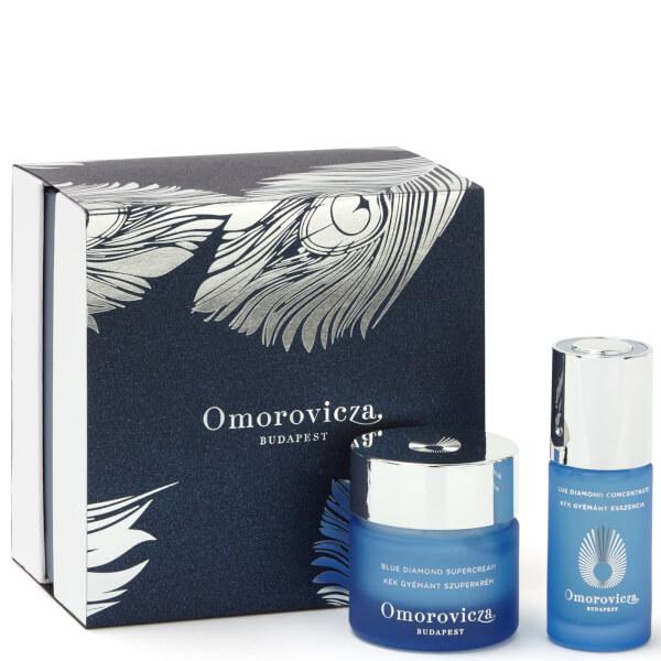Omorovicza Blue Diamond Set (Worth £570)