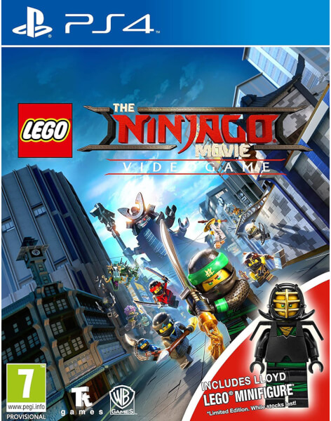 Lego The Ninjago Movie: Videogame Mini-fig Edition PS4 | Zavvi