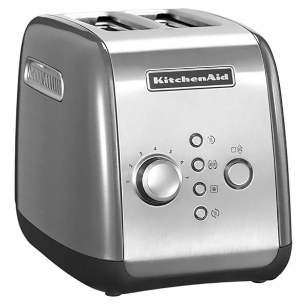 KitchenAid 5KMT221BCU 2 Slot Toaster - Contour Silver