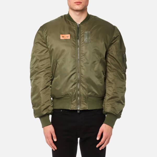 Maharishi Men's MA-1 Flight Jacket - Mil Olive - Free UK Delivery ...