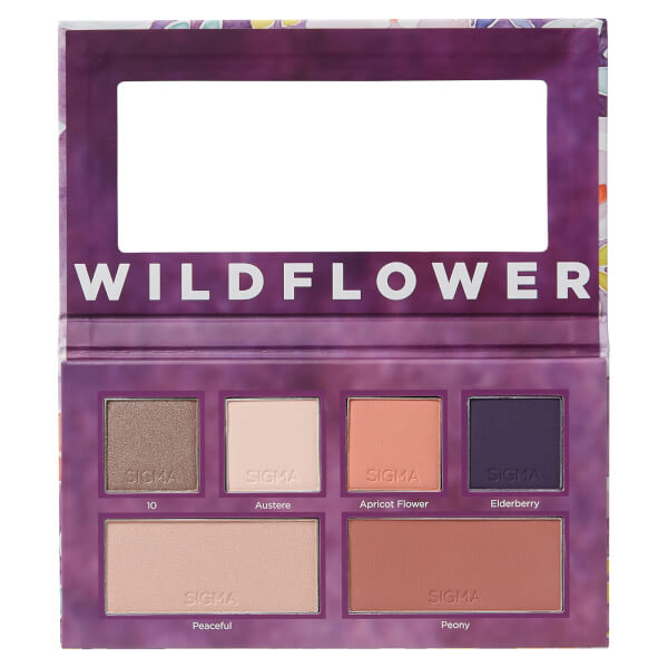 Sigma Wildflower Eye & Cheek Palette