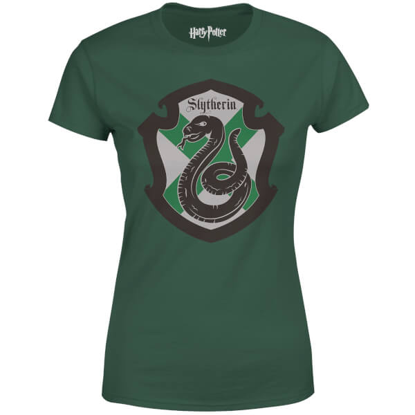 Harry Potter Slytherin House Green Women\'s T-Shirt | IWOOT