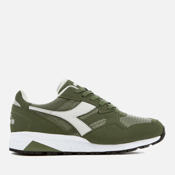 Diadora Men's N902 Trainers - Green Olivine