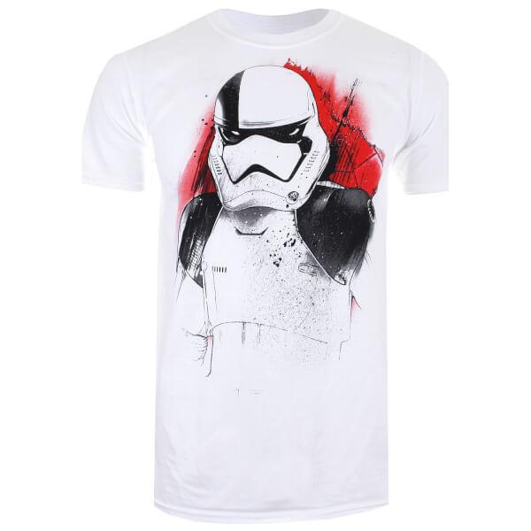 Star Wars Men's The Last Jedi Executioner T-Shirt - White