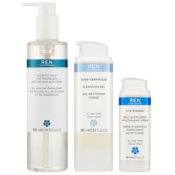 REN Exclusive Cleanse & Nourish Trio