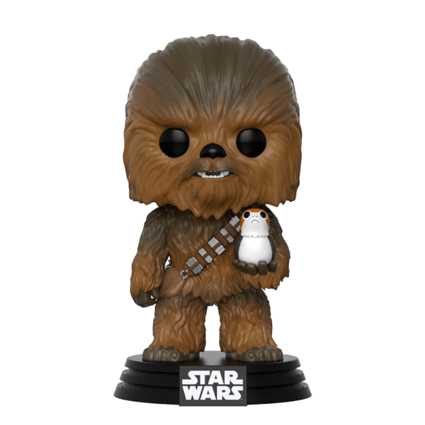 figurine pop chewbacca star wars les derniers jedi pop in a box france. Black Bedroom Furniture Sets. Home Design Ideas