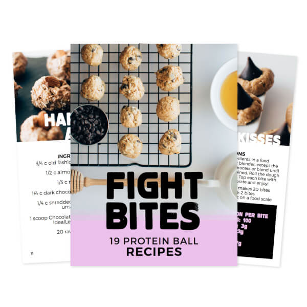 The power of the bite ebook array fight bites 19 protein ball recipes ebook idealfit rh idealfit com fandeluxe Images