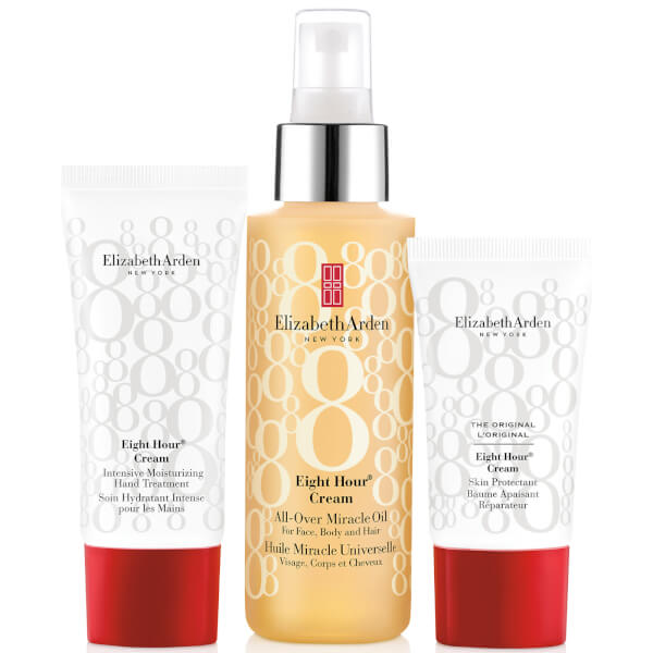 Elizabeth Arden Eight Hour Cream All Over Miracle Oil Set (Worth £48.00)
