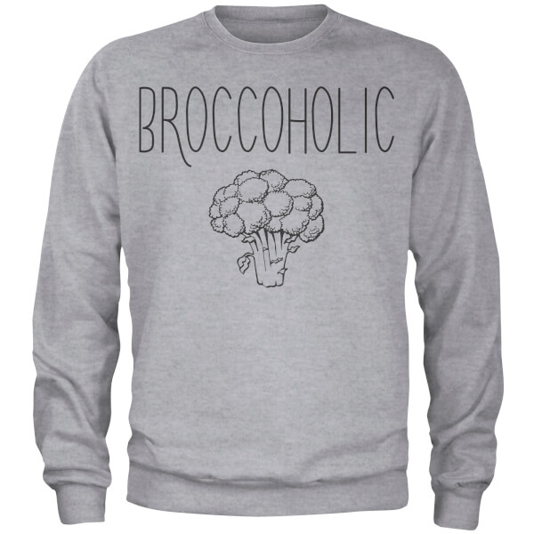 Broccoholic Sweatshirt - Grey
