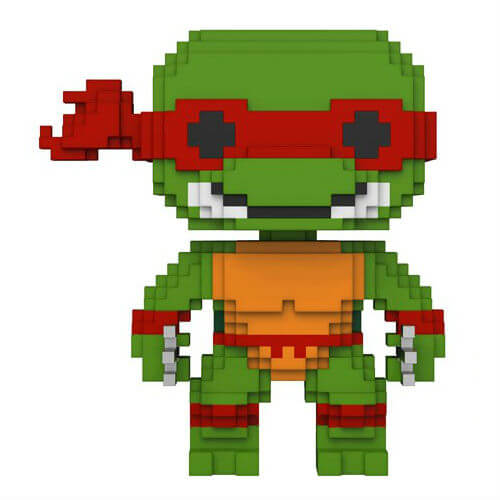8 Bit Teenage Mutant Ninja Turtles Raphael Pop! Vinyl Figure