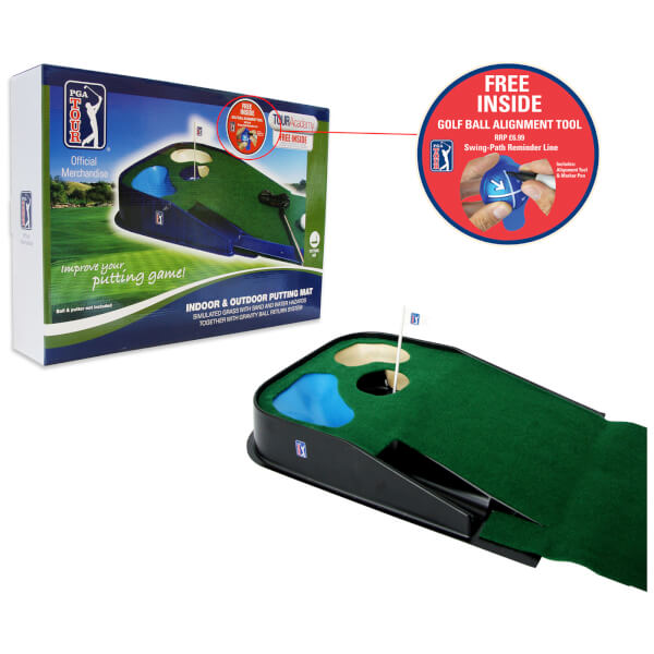 PGA Tour Indoor-Outdoor Putting Mat