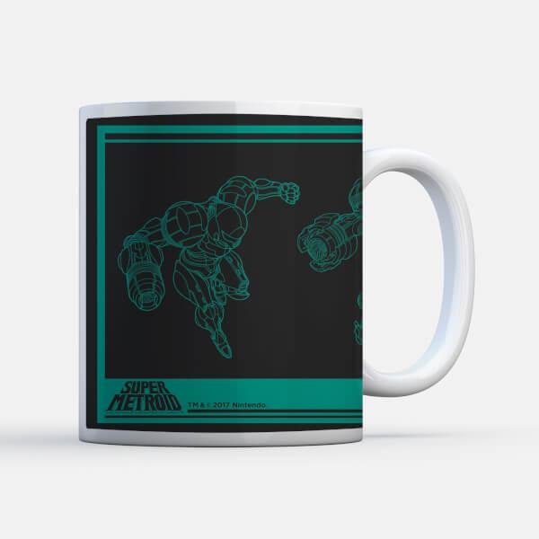 Nintendo Super Metroid Power Suit Mug