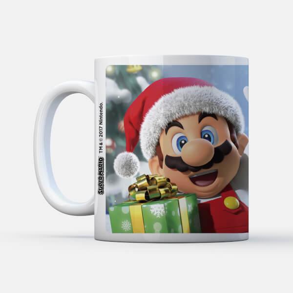 Nintendo Super Mario Claus Wave Mug