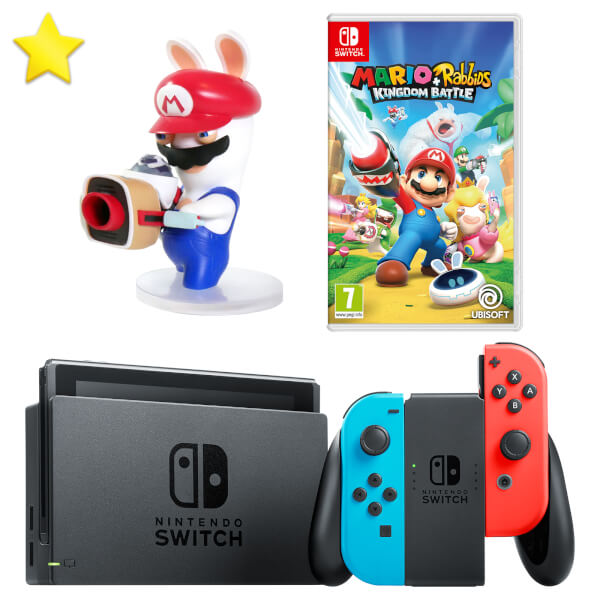 nintendo switch rabbids pack nintendo uk store. Black Bedroom Furniture Sets. Home Design Ideas