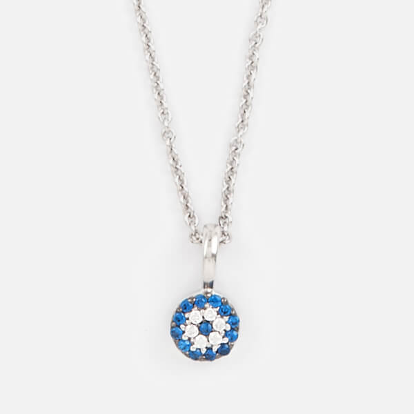 Missoma Women's Silver Talisman Necklace - Silver