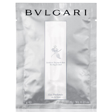 BVLGARI Eau Parfumée au thé Blanc Tea Bag for Bath