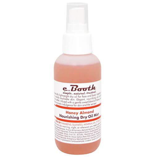 C. Booth Nourishing Dry Oil Mist - Honey Almond