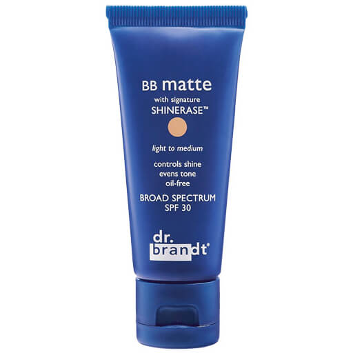 dr. brandt BB Matte with Signature Shinerase - Light to Medium