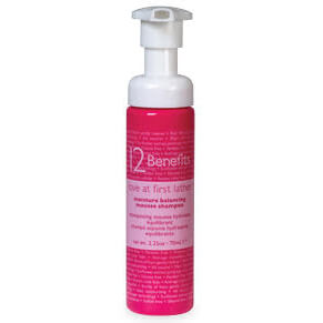 12 Benefits Love At First Lather Foaming Hair Shampoo