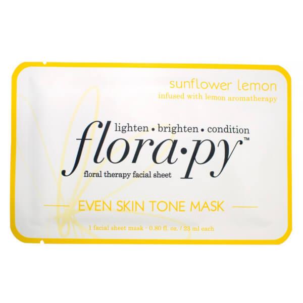 Florapy Even Skin Tone Mask - Sunflower Lemon