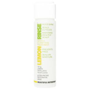 Beautiful Nutrition Lemon Rinse Gentle Clarifying Hair Treatment